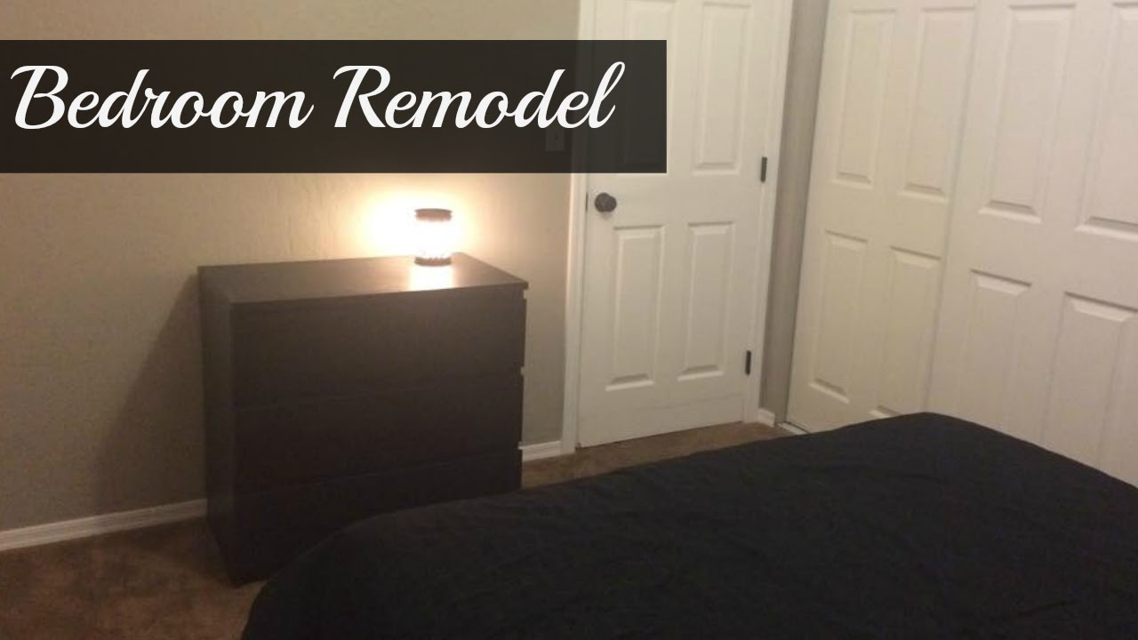 bedroom remodel before and after youtube