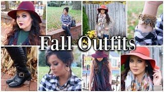 Fall Lookbook | 3 Outfit Ideas!