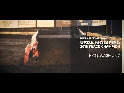2018 Deer Creek Speedway USRA Modified Track Champion