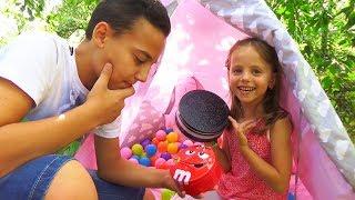 Квест ЧЕЛЛЕНДЖ для детей с ЗАДАНИЕМ Ищем сладости в ДОМЕ Challenge без родителей