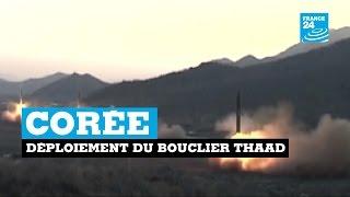 Corée : déploiement du bouclier THAAD