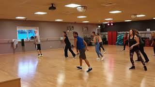 Aerobic Dance Choreography on Latin / Tribal mix.