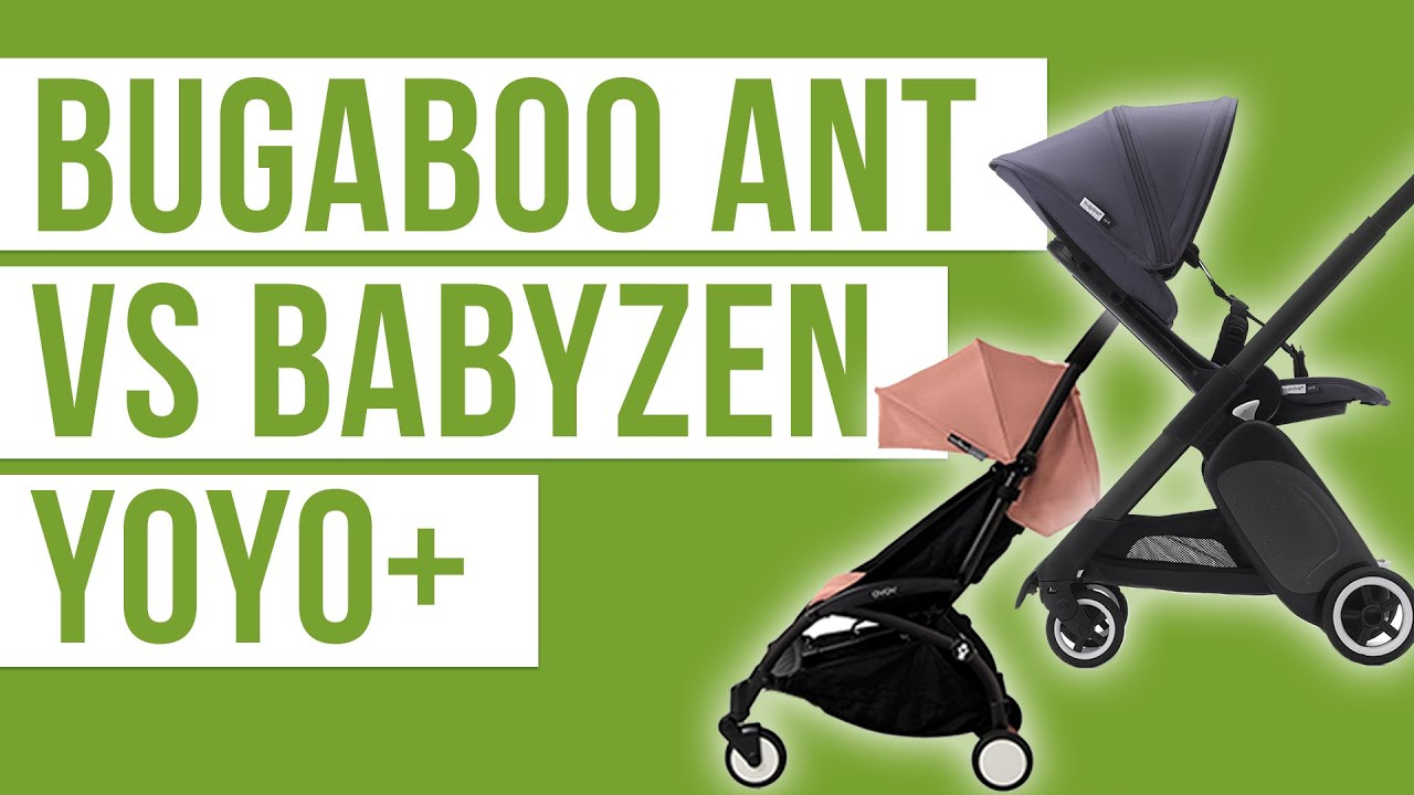 Bugaboo Ant vs Babyzen Yoyo+ | Lightweight Compact Travel Stroller Comparison 2019