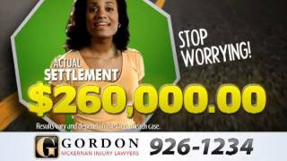 Gordon McKernan Injury Attorneys Helped Stopped my Worrying | Baton Rouge Personal Injury