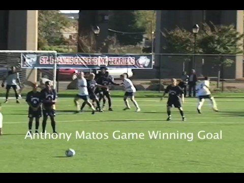 St. Francis College Men's Soccer Highlights