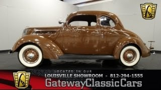 1937 Ford Club Coupe - Louisville Showwroom - Stock #882