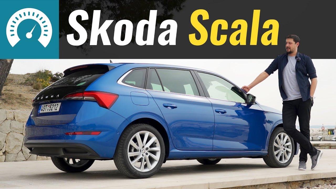 Skoda Scala - Golf по цене Rapid? Обзор Шкода Скала