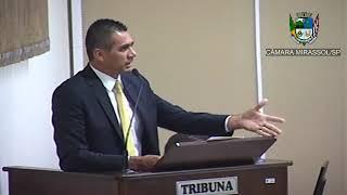 7ª Sessão Ordinária - Vereador Sérgio Leiteiro