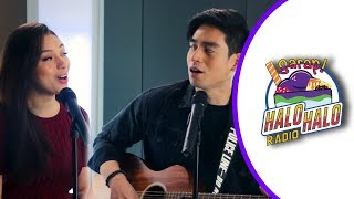 Jem Cubil and Andrea Babierra perform acoustic version of The Morning After