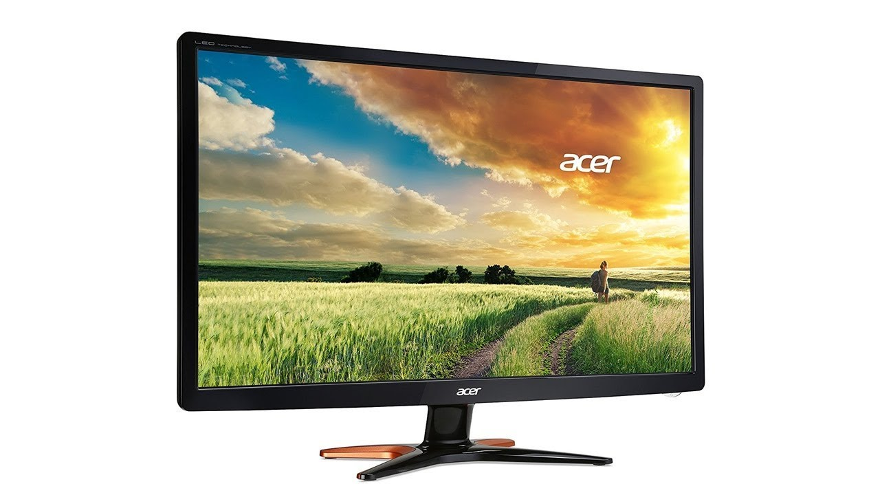 acer predator gn246hlbbid 61 cm 24 zoll esports monitor. Black Bedroom Furniture Sets. Home Design Ideas