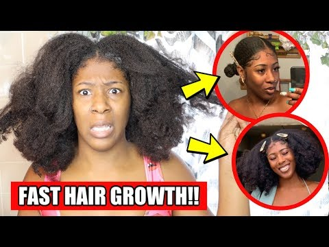 My Fall/ Winter NATURAL HAIR ROUTINE for Fast Hair Growth!😳😱|  HEALTHY HAIR GROWTH for Type 4 Hair thumbnail