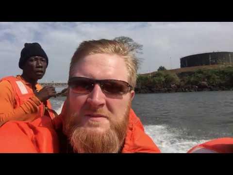 Sierra Leone speed boat