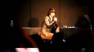 """財前宣之 sings """"遠く遠く""""@ZAI Night 2010"""