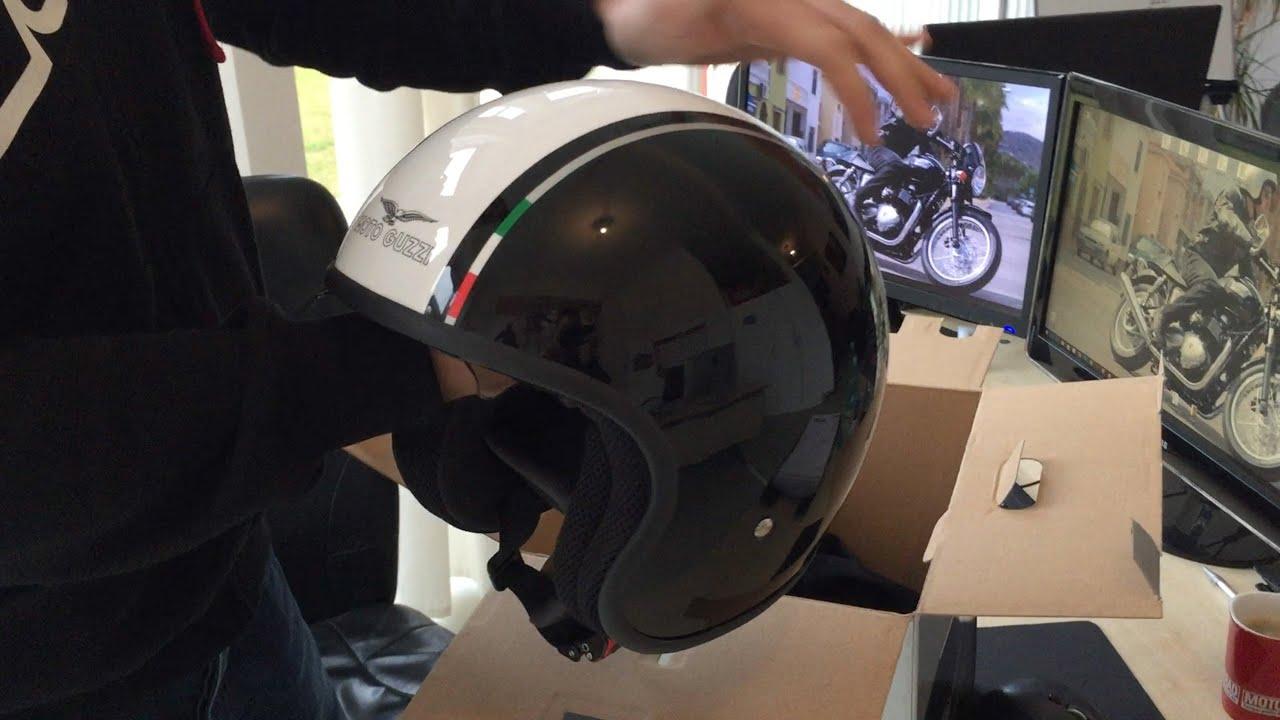 moto guzzi jet helm deutsch erkl rung by rwn moto youtube. Black Bedroom Furniture Sets. Home Design Ideas