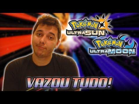Pokémon Ultra Sun & Pokémon Ultra Moon NEWS - VAZOU TUDO: Base Stats, Moves, Novos Pokémon!