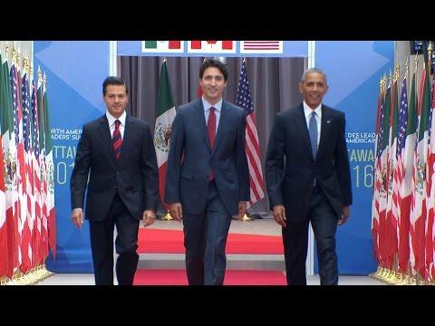 Three Amigos Summit underway in Ottawa