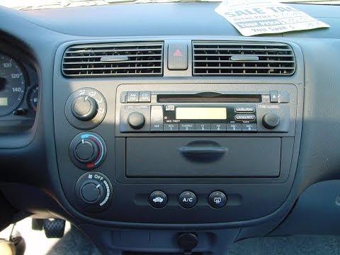 Desmontar Estereo How To Remove Radio Honda Civic 2000 - 2005 / JMK