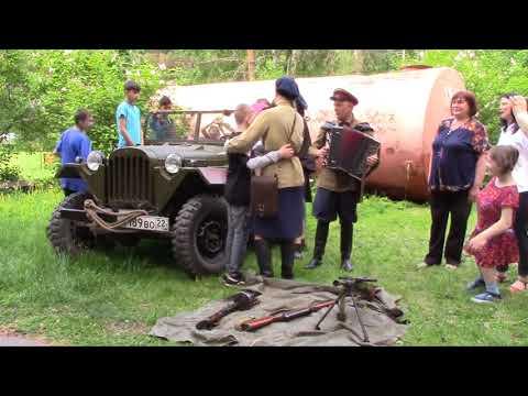 В Томской области сотрудники полиции организовали военную реконструкцию
