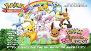 "Pokémon - Eevee e Friends - English Ending HD ""World of Wonder"" - Kathryn Raio"