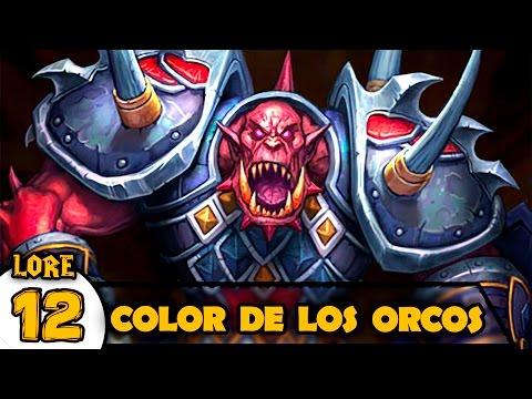 COLOR de los ORCOS | Lore Warcraft #12