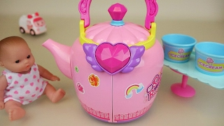 Video Baby Doll pot house toys and Ambulance clinic play download MP3, 3GP, MP4, WEBM, AVI, FLV Desember 2017