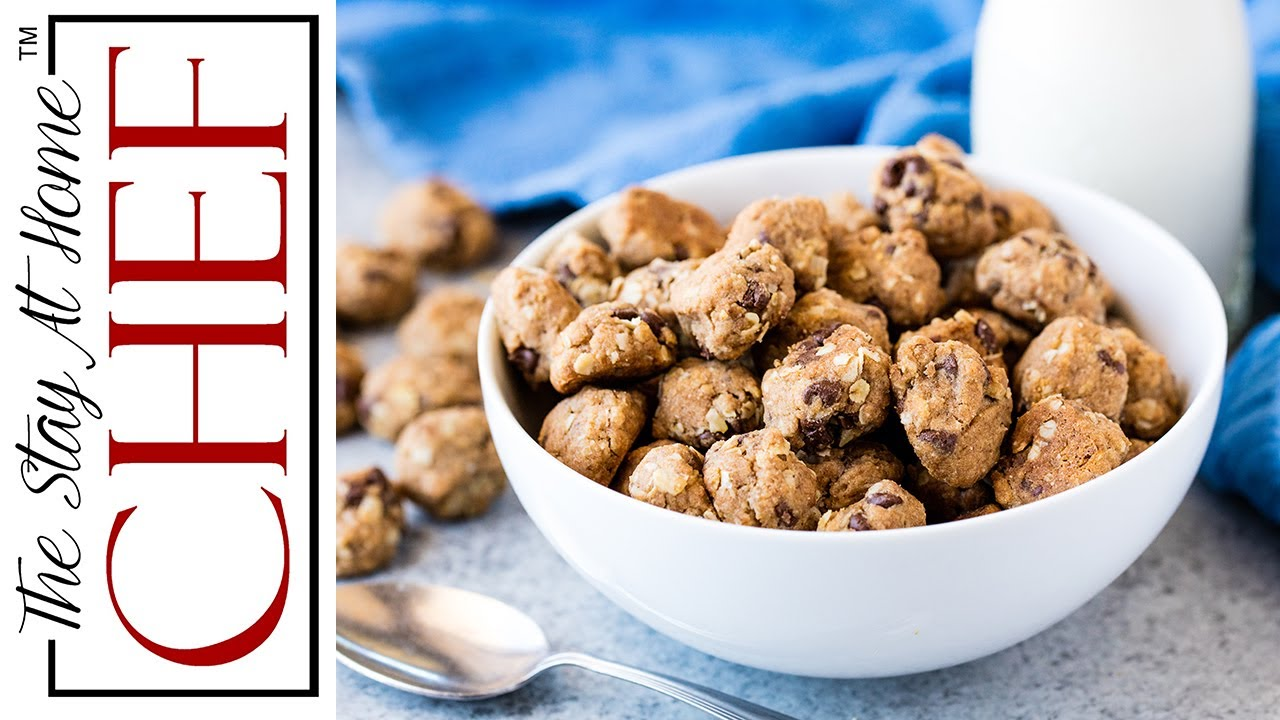 How to make homemade cookie cereal youtube how to make homemade cookie cereal ccuart Images