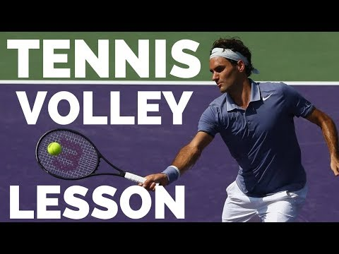 Tennis Volley Lesson - Transform Your Volleys Using These Drills