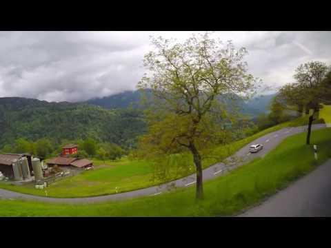 VILLARS - OLLON - AIGLE Bus Ride (Switzerland)
