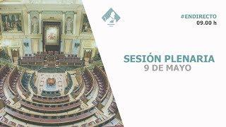 Sesión Plenaria (09/05/2018)