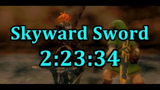 Skyward Sword Any% Speedrun in 2:23:34