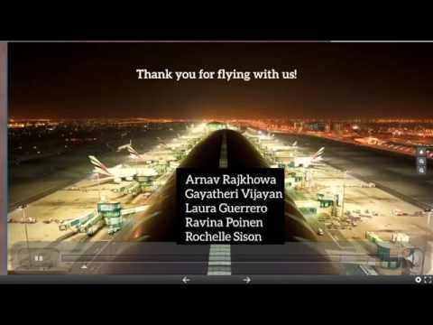 MARKETING MANAGEMENT PRESENTATION - EMIRATES AIRLINES