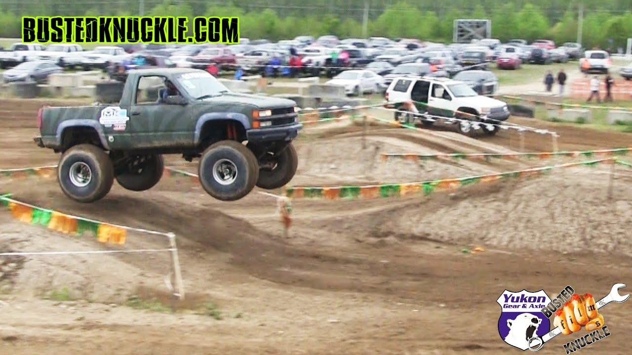 Redneck tough truck racing youtube