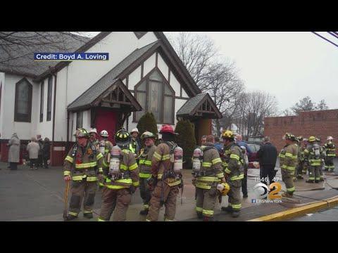 Altar Catches Fire At Hawthorne, N.J. Church