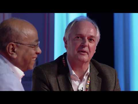 Mo Ibrahim in conversation with Paul Polman