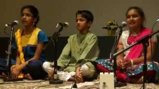 Prakriti & Pranav Setlur, Avantika Sridhar - Miyan Malhar (राग मियाँ मल्हार : बोले रे पपीहरा)