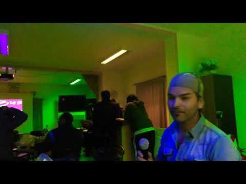 No veo la hora.. Ronald Montoya karaoke campamento minera Chuquicamata