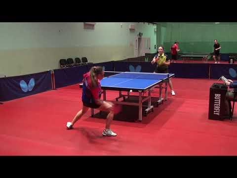 Видео: GOLUBEVA - TIKHOMIROVA #MOSCOW #Championships 2020 #RUSSIAN #tabletennis #настольныйтеннис
