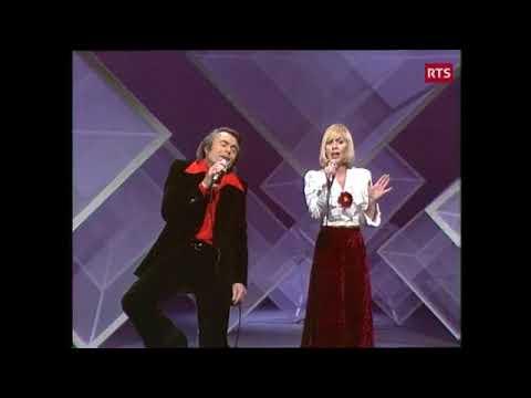 Alain Barrière et Noëlle Cordier - Tu t'en vas (live 1975)