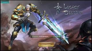 Tips lvling and reedem code legacy of destiny
