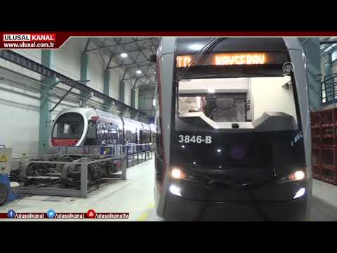Milli tramvay ile yolculuk