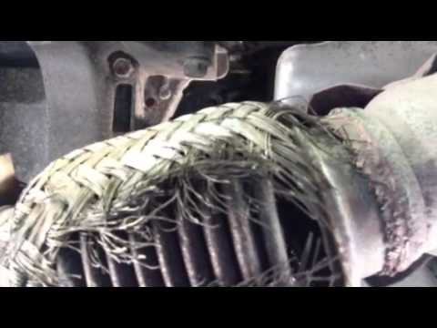 Shredded flex pipe (06 altima) exhaust note  YouTube
