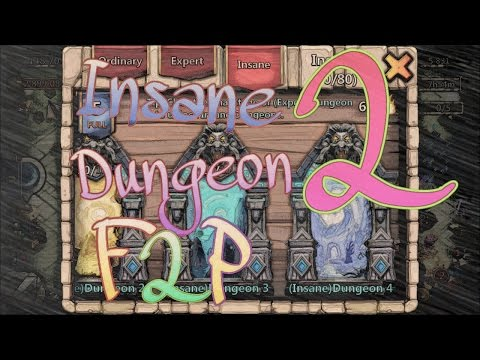 #2: Insane Dungeon 2-1/2-10 With F2P Heroes Only