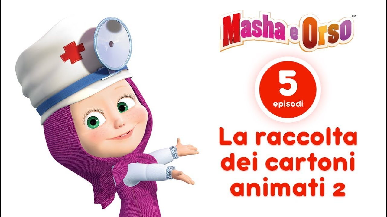 Masha E Orso La Raccolta Dei Cartoni Animati 3 I Migliori Cartoni Animati Per Bambini