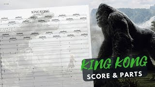 KING KONG (James N. Howard) | Opening | Orchestral Score & Parts
