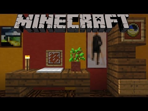 minecraft einrichtungsideen k che wohnzimmer arbeitszim doovi. Black Bedroom Furniture Sets. Home Design Ideas