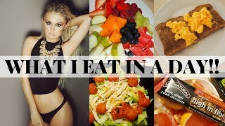 WHAT I EAT IN A DAY 2018 // Healthy Diet (Not Vegan)