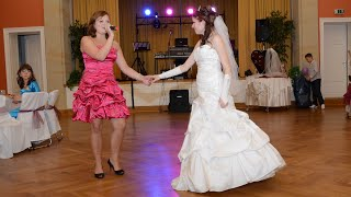 Свадьба. Сестра поёт невесте. Сюрприз  для невесты.