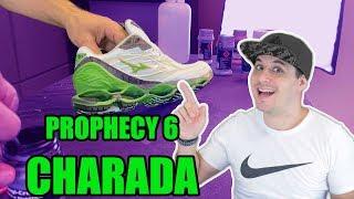 Customização Do  Prophecy 6 Charada   O Tênis Mais Chave