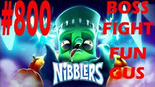 rovio nibblers boss fight fun gus level 800 three star walkthrough