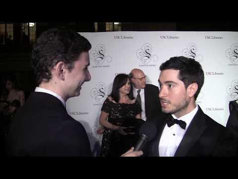 "Jason Fuchs ""Wonder Woman"" at USC Scripter Awards"